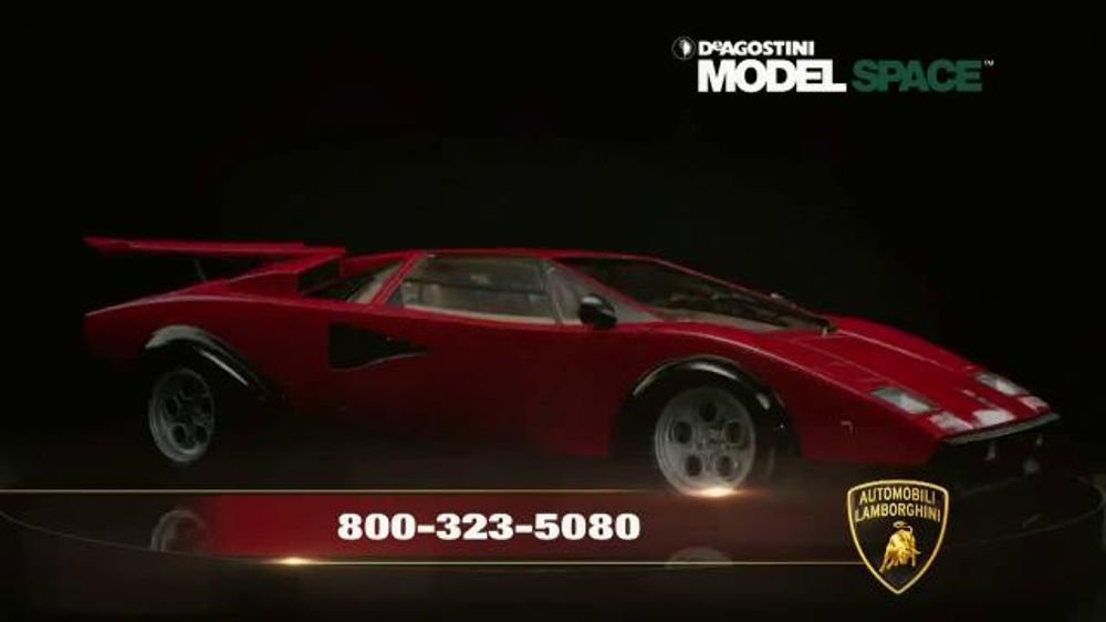 Model Space Lamborghini Countach LP 500S TV Commercial, 'The Ultimate Ride'