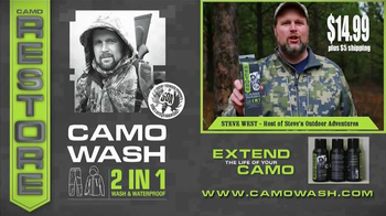 Camo Wash TV Spot, 'Restore Your Clothes' - Thumbnail 10
