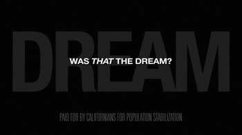 Californians for Population Stabilization TV Spot, 'Flow of Immigrant' - Thumbnail 10