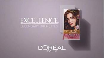 L'Oreal Excellence Legendary Brunettes TV Spot, 'Inspired by Sophia Loren' - Thumbnail 3