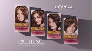 L'Oreal Excellence Legendary Brunettes TV Spot, 'Inspired by Sophia Loren' - Thumbnail 5