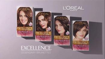 L'Oreal Excellence Legendary Brunettes TV Spot, 'Inspired by Sophia Loren' - Thumbnail 8