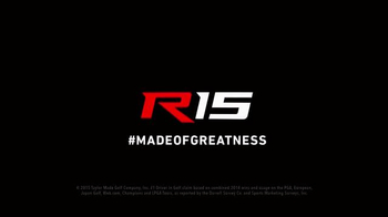 TaylorMade R15 Fairways TV Spot, 'Made of Greatness' - Thumbnail 8