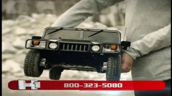 Model Space Hummer H1 TV Spot, 'Build Your Remote-Controlled Vehicle'