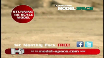 Model Space Hummer H1 TV Spot, 'Build Your Remote-Controlled Vehicle' - Thumbnail 10