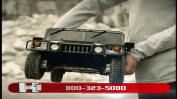 Model Space Hummer H1 TV Spot, 'Build Your Remote-Controlled Vehicle' - Thumbnail 8