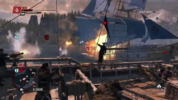 Assassin's Creed Rogue TV Spot, 'Adult Swim: Toonami' - Thumbnail 7