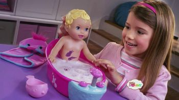 Little Mommy Bubbly Bathtime Baby TV Spot - 227 commercial airings