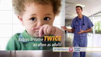 Simply Saline TV Spot, 'Babies' Featuring Dr. Travis Stork - Thumbnail 2