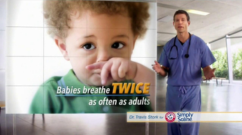 Simply Saline TV Spot, 'Babies' Featuring Dr. Travis Stork - Thumbnail 3