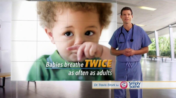 Simply Saline TV Spot, \'Babies\' Featuring Dr. Travis Stork