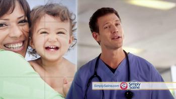 Simply Saline TV Spot, 'Babies' Featuring Dr. Travis Stork - Thumbnail 8
