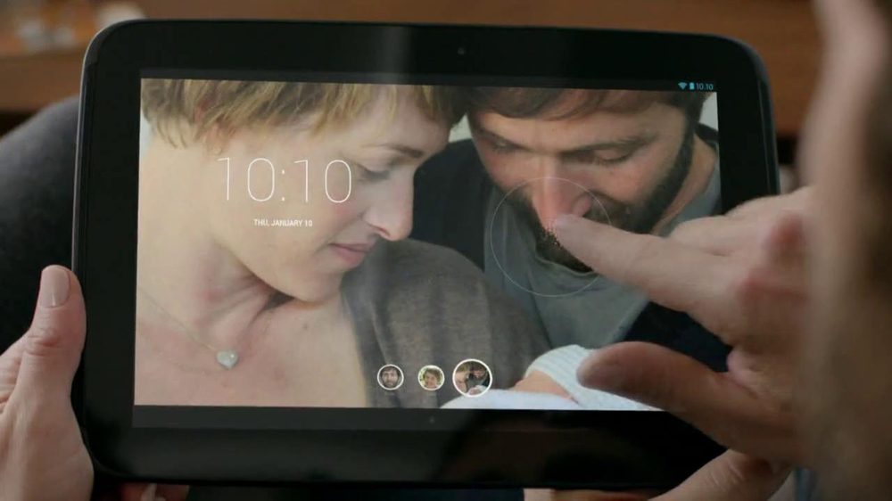 Google Nexus 10 TV Commercial, 'New Baby' Song by The Temper Trap