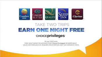 Choice Hotels TV Spot, 'Free Night' - Thumbnail 5
