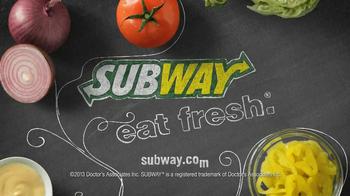 Subway $3 Six-Inch Select TV Spot - Thumbnail 6