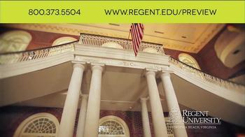 Regent University TV Spot, 'Preview' - Thumbnail 10