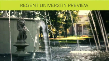 Regent University TV Spot, 'Preview' - Thumbnail 8
