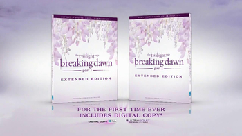 The Twilight Saga Breaking Dawn Pt. 1 Extended Edition DVD TV Spot  - Thumbnail 8