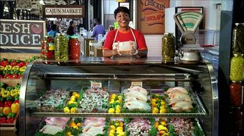 Popeyes Cajun Surf and Turf TV Spot, 'Cajun Market' - Thumbnail 1