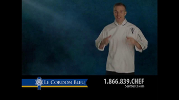 Le Cordon Bleu TV Spot, 'Love to Cook?' - Thumbnail 1