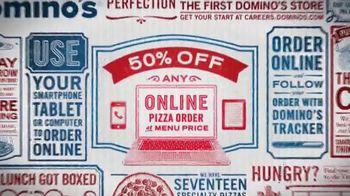 Domino's Pizza TV Spot, '50% Off'