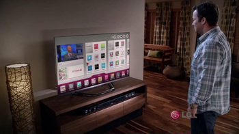 LG TV and Soundbar TV Spot, 'March Madness Party' Featuring Greg Anthony - Thumbnail 1