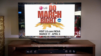 LG TV and Soundbar TV Spot, 'March Madness Party' Featuring Greg Anthony - Thumbnail 10