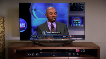 LG TV and Soundbar TV Spot, 'March Madness Party' Featuring Greg Anthony - Thumbnail 2