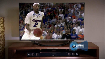 LG TV and Soundbar TV Spot, 'March Madness Party' Featuring Greg Anthony - Thumbnail 5