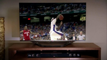 LG TV and Soundbar TV Spot, 'March Madness Party' Featuring Greg Anthony - Thumbnail 6