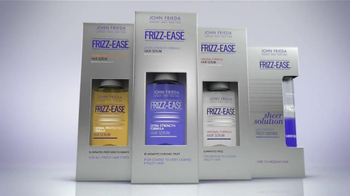 John Frieda Frizz-Ease TV Spot, 'Battle with Frizz' - Thumbnail 8