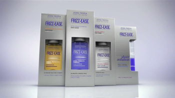 John Frieda Frizz-Ease TV Spot, 'Battle with Frizz' - Thumbnail 4