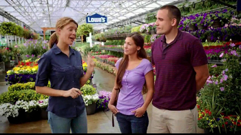 MyLowe's TV Spot, 'How Many Annuals' Feat. Grace Anne Helbig - Thumbnail 1