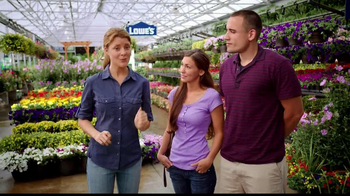 MyLowe's TV Spot, 'How Many Annuals' Feat. Grace Anne Helbig - Thumbnail 2