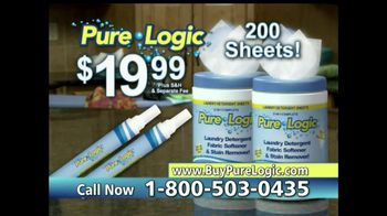 Pure Logic TV Spot - 4 commercial airings