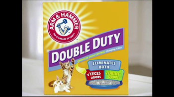Arm and Hammer Double Duty TV Spot, 'Double Trouble' - Thumbnail 4