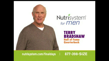 Nutrisystem TV Spot, 'Pretty Like Me' Featuring Terry Bradshaw  - 384 commercial airings