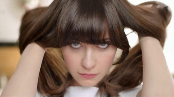 Pantene BB Hair Creme TV Spot, Featuring Zooey Deschanel  - 214 commercial airings
