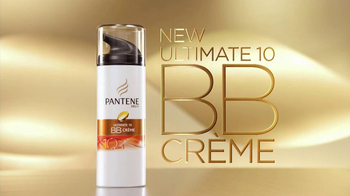Pantene BB Hair Creme TV Spot, Featuring Zooey Deschanel  - Thumbnail 4