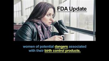 Kyros Law Group, LLC TV Spot, \'Birth Control Lawsuit\'