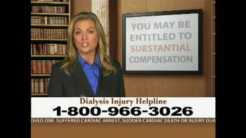 Weitz and Luxenberg TV Spot, 'Dialysis Injury' - Thumbnail 2
