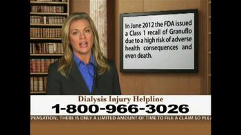 Weitz and Luxenberg TV Spot, 'Dialysis Injury' - Thumbnail 6