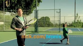 Nickelodeon TV Spot, 'Tennis' - Thumbnail 7