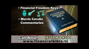 Financial Freedom Bible TV Spot