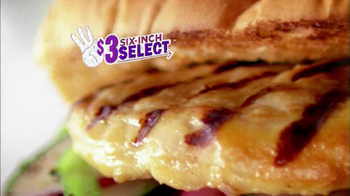 Subway $3 Six-Inch Select Oven Roasted Chicken TV Spot Feat. Laila Ali - Thumbnail 1