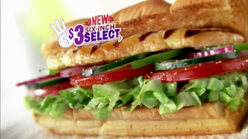 Subway $3 Six-Inch Select Oven Roasted Chicken TV Spot Feat. Laila Ali - Thumbnail 2
