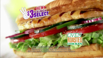 Subway $3 Six-Inch Select Oven Roasted Chicken TV Spot Feat. Laila Ali - Thumbnail 8