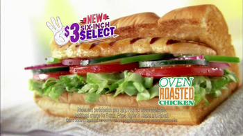 Subway $3 Six-Inch Select Oven Roasted Chicken TV Spot Feat. Laila Ali - Thumbnail 9