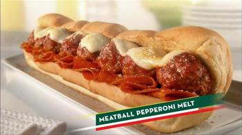 Subway Meatball Pepperoni Melt TV Spot, 'Italy Daydream: Gondola' - Thumbnail 10