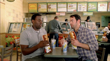 Subway Meatball Pepperoni Melt TV Spot, 'Italy Daydream: Gondola' - Thumbnail 8